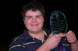 Matthew and  Award
